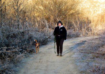 Walking with Emmiloú